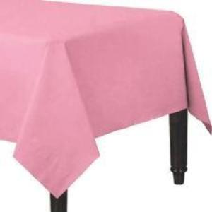 New Pink 3 Ply Paper Table Cover