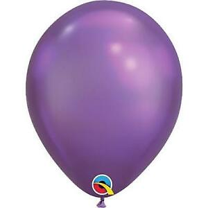Chrome Purple Latex Balloon