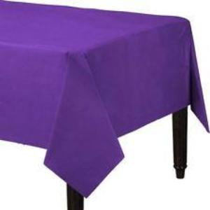 Purple 3 Ply Paper Table Cover
