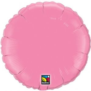Rose Pink Round Foil Balloon