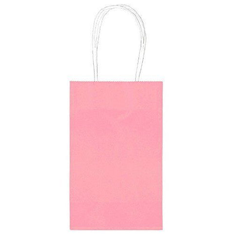 Light Pink Paper Party Bags 10pcs