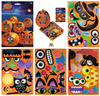 Pumpkin Carving Sticker Book