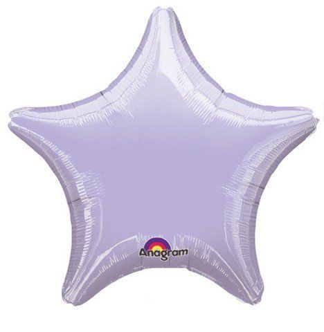 Pale Purple Star Foil Balloon