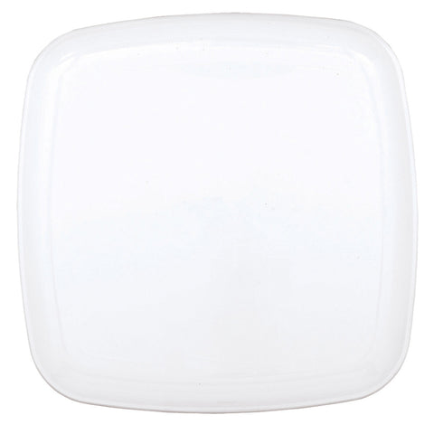 Square White Serving Platter