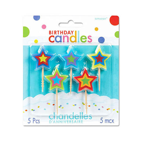 Toothpick Candles - Stars