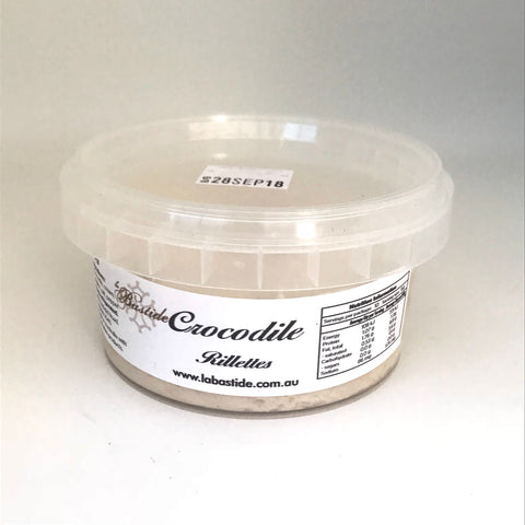 Crocodile Rillettes 150g - ONLY for Sydney South-Eastern Suburb Delivery