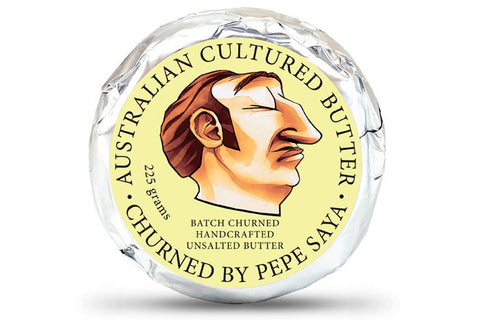 Unsalted Butter 225g by PepeSaya - ONLY for Sydney Home Delivery