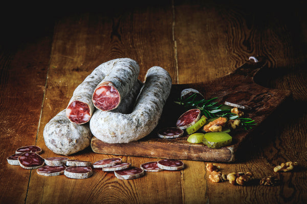 Mixed of Saucisson & Saucisse Sèche  (Free range) - Bulk