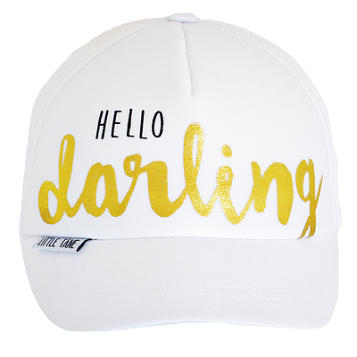 Little Tane Hello Darling trucker hat