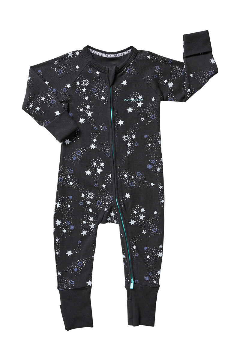Bonds Rib Zip Wondersuit North Star Solar System