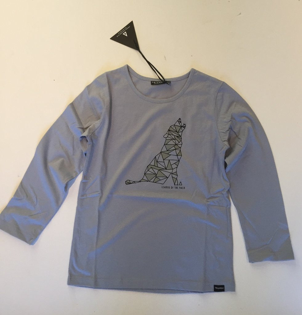 Triangle Leader Of The Pack l/s tee Sky