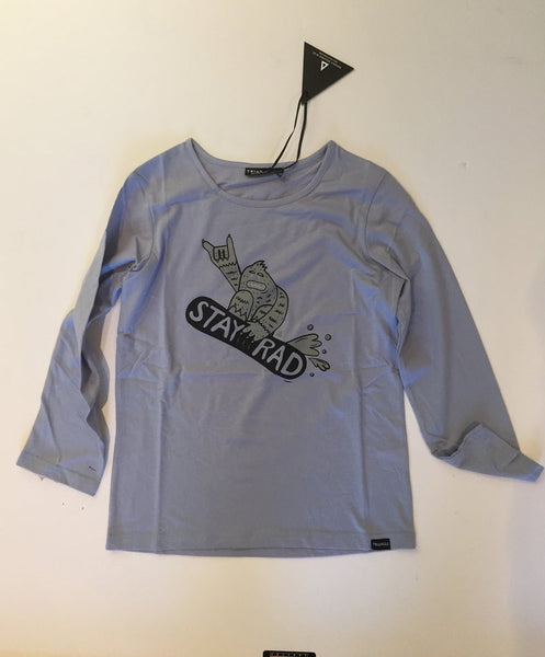 Triangle Stay Rad Yeti l/s tee Sky