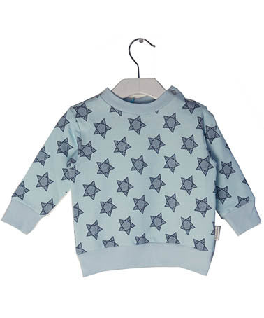 broken tricycle Star sweater charcoal