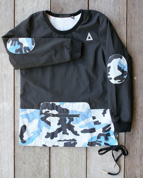 Triangle Stealth Crew Black