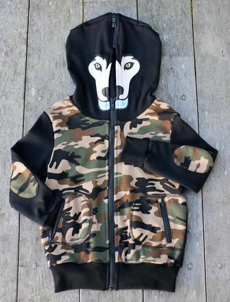 Triangle Beast Mode Hood Black