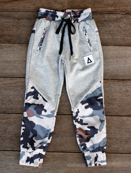 Triangle Stealth Trackies Grey