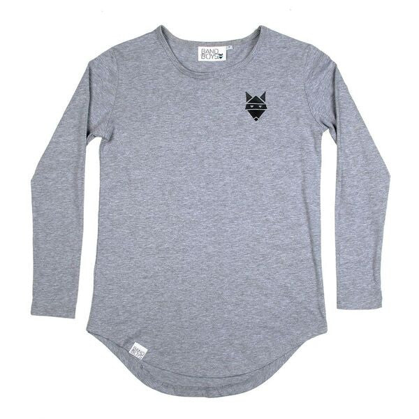 Band of Boys The Bones Grey Longsleeve Tee
