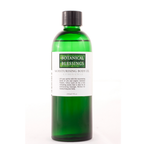 Botanical Blessings body oil