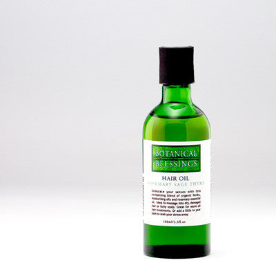 ROSEMARY SAGE AND THYME HAIR OIL