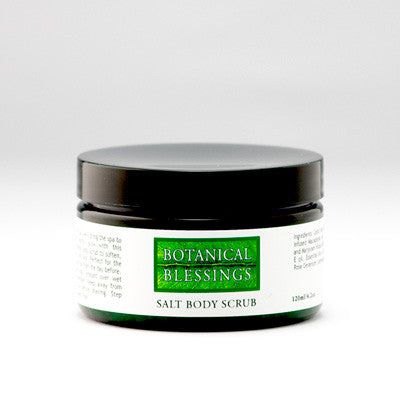 SALT BODY SCRUB – Botanical Blessings