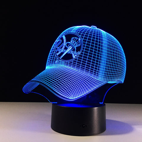 LIMITED EDITION NEW YORK YANKEES - 3D LAMP