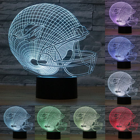 LIMITED EDITION 3D MIAMI DOLPHINS LAMP