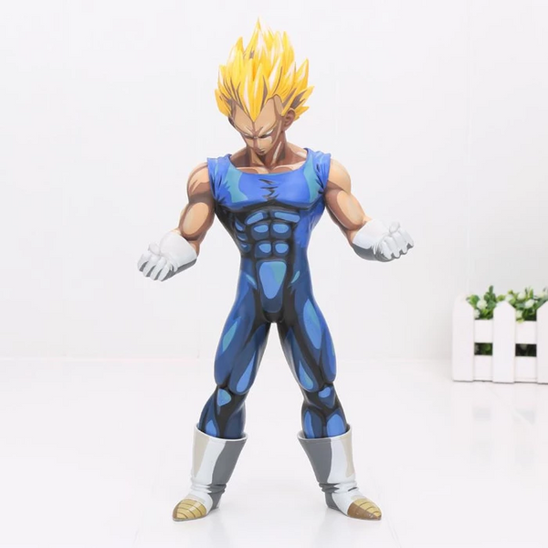 DBZ Vegeta Super Saiyan Power Ready Fighting Action Figure 26cm