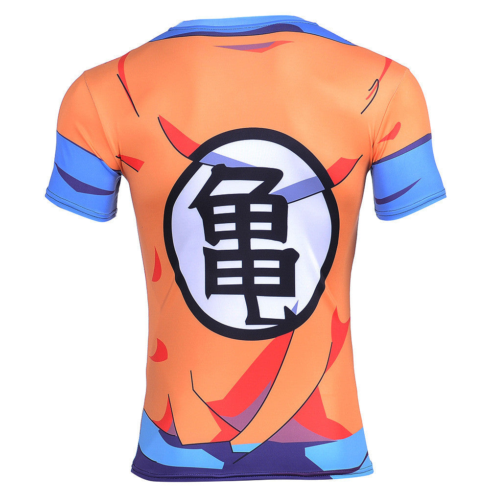 Master roshis disciple krillin goku kame symbol 3d t shirt saiyan note these t shirts are printed and depending on your screen rgb setting colors may vary biocorpaavc Images