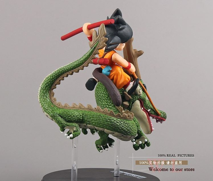 Dragon Ball Son Goku & Shenron Dragon Riding Action Figure 14cm