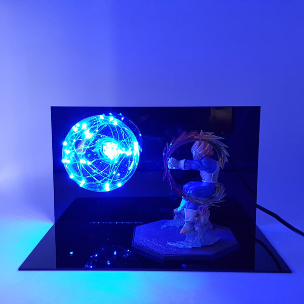 Super Saiyan Vegeta Powerful Attack DIY 3D LED Lamp
