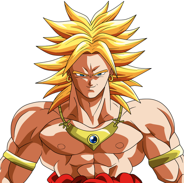 Broly was not a canon character