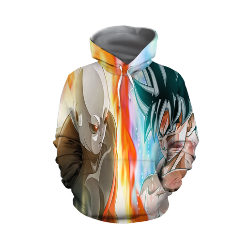 Dragon Ball Super Goku vs Jiren Overflowing Aura Hoodie