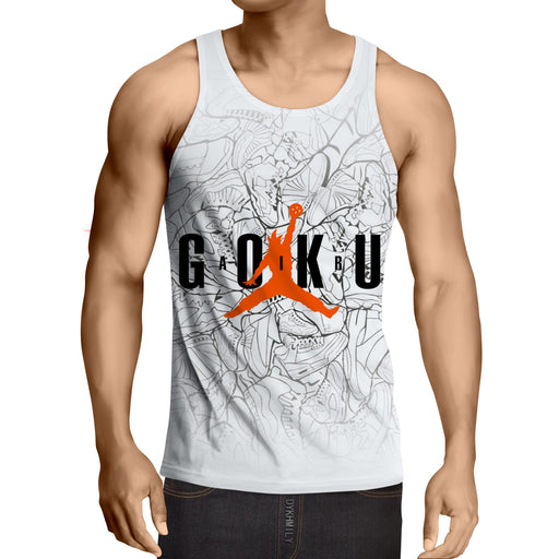 Dragon Ball Goku Jump Man Jordan Symbol Fashion Tank Top