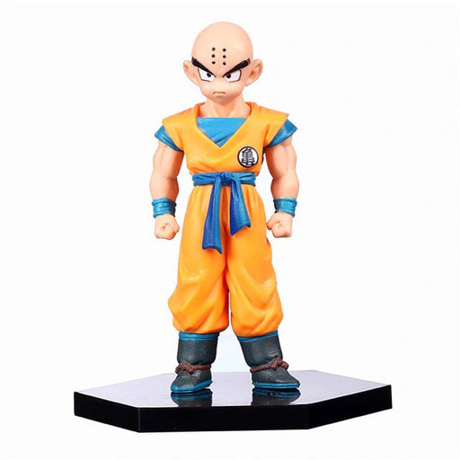 DBZ Krillin With Six Spots Of Moxibustion Burns Action Figure