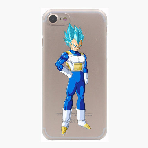 Dragon Ball Vegeta Saiyan God Blue SSGSS PC iPhone 4 5 6 7 8 Plus X Case