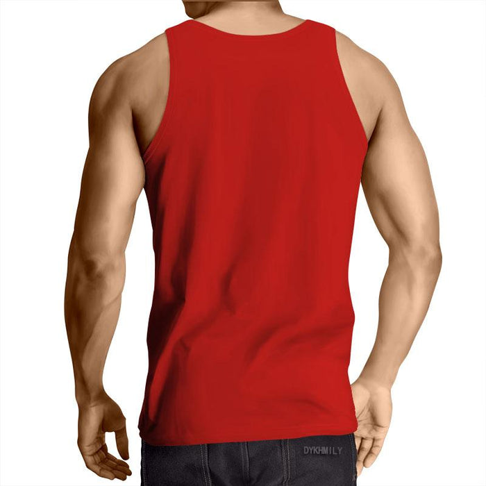 Supreme Kid Trunks Jumping Red Trendy Fashion Tank Top
