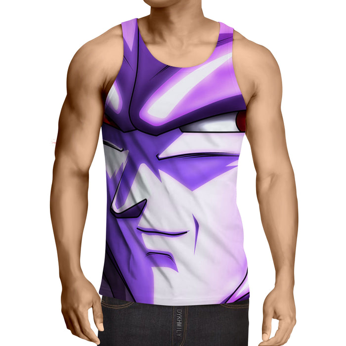 Dragon Ball Purple Hit Stylish Design Full Print Tank Top
