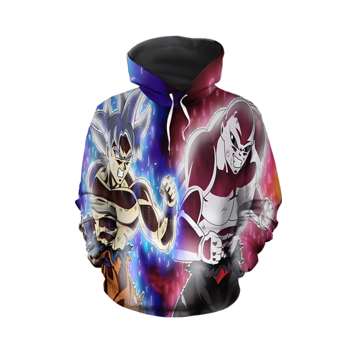 Dragon Ball Super Goku vs Jiren Fierce Battle Full Print Hoodie