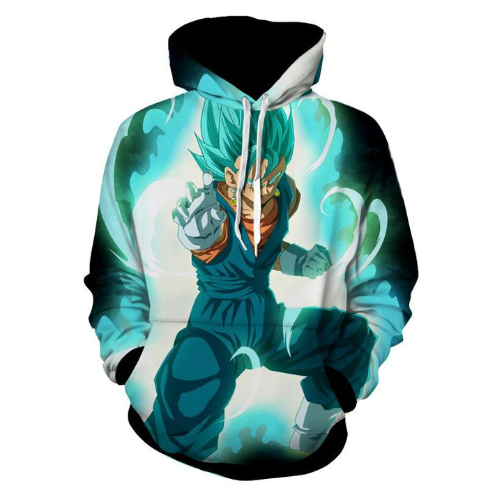 Dragon Ball Vegito Potara Fusion Dope 3D Full Print Hoodie