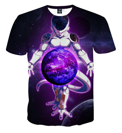 Dragon Ball Anime Dominant Lord Frieza Dope 3D Print T-shirt