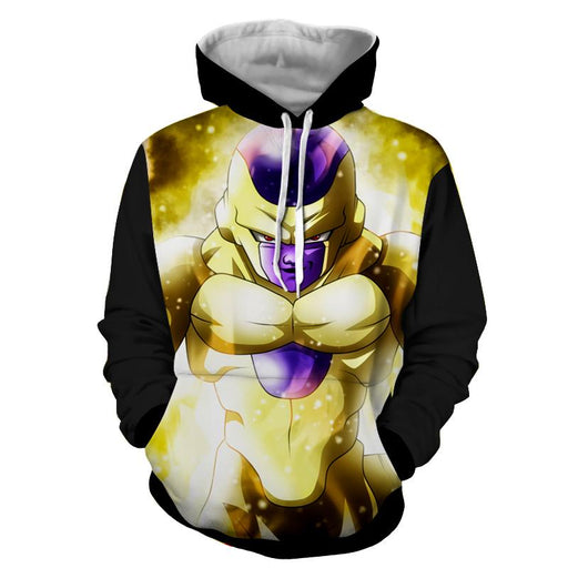 Dragon Ball Dangerous Golden Frieza Dope Style Hoodie