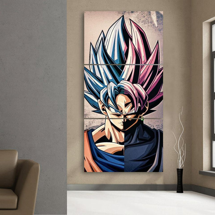 DRAGON BALL Z POSTER SAIYAN JAPANESE MANGA  WALL ART PICTURE PRINT GIANT
