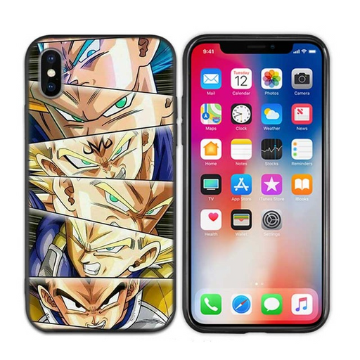 Vegeta Prince Of Saiyan Forms iPhone 11 (Pro & Pro Max) Case