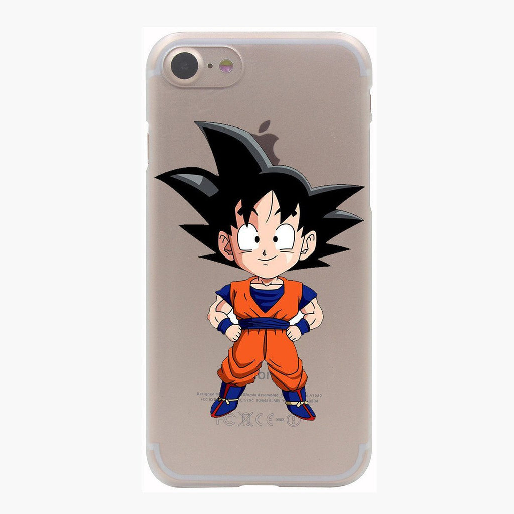 Dragon Ball Goku Super Saiyan Chibi Style PC iPhone 4 5 6 7 s Plus Case
