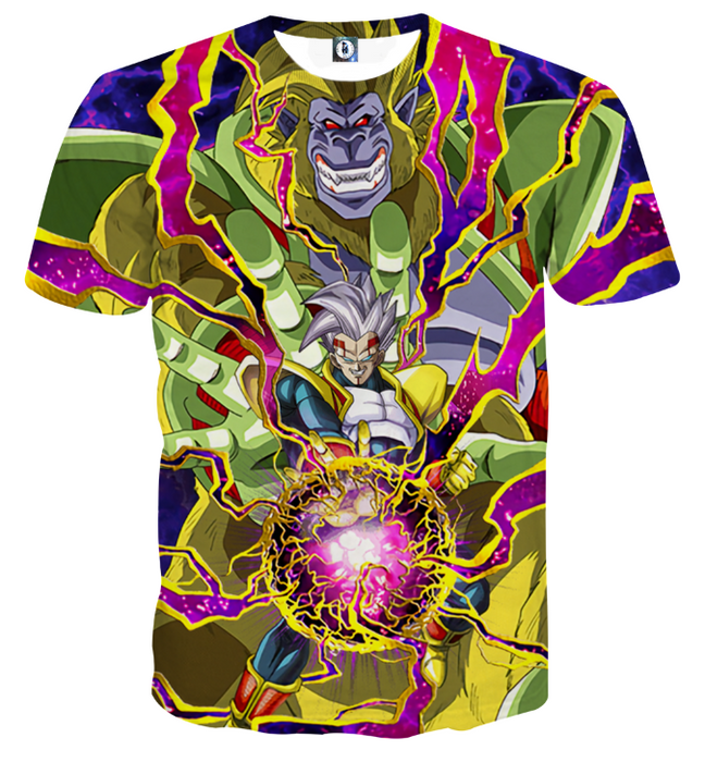 DBZ Dokkan Battle Super Baby 2 Golden Giant Ape T-shirt