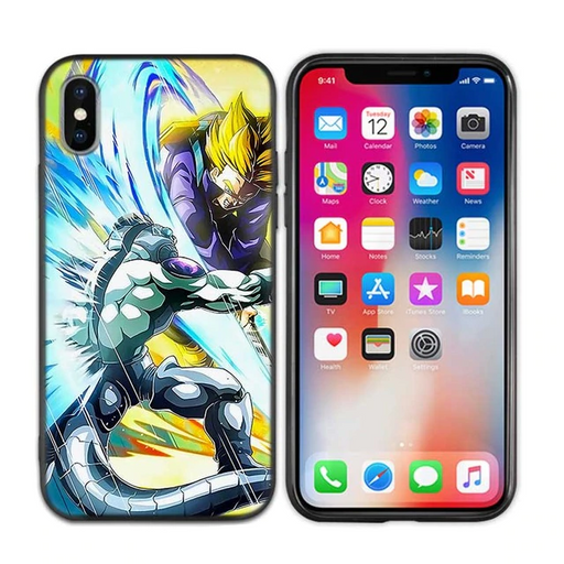 DBZ Trunks Slashing Frieza iPhone 11 (Pro & Pro Max) Case