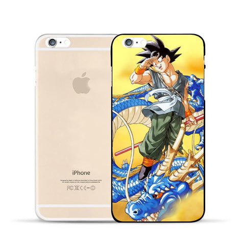 Dragon Ball Goku Ride Blue Shenron Awesome Design Hard PC iPhone 5 6 7 s Plus Case