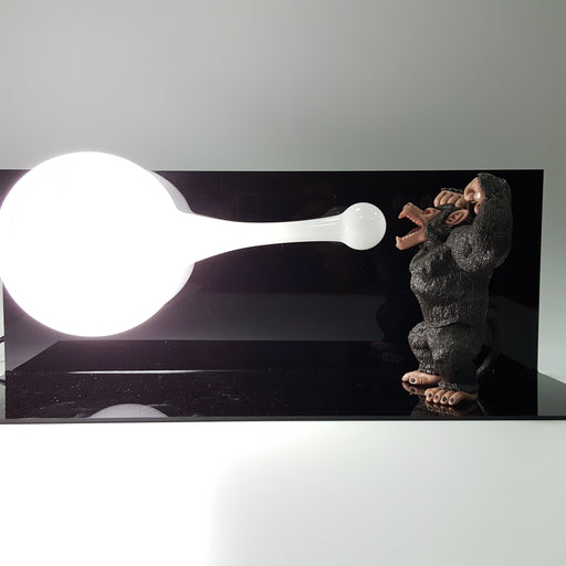 DBZ Great Ape Ki Blast Mouth Energy Wave DIY 3D Light Lamp