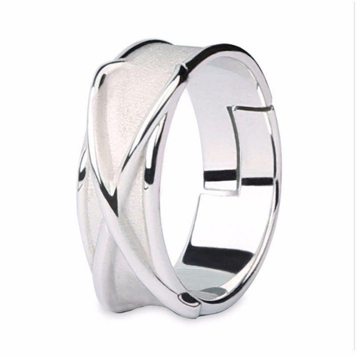 DBZ Black Goku Super Saiyan Potara Fusion Cool Silver Cosplay Time Ring - Saiyan Stuff - 5