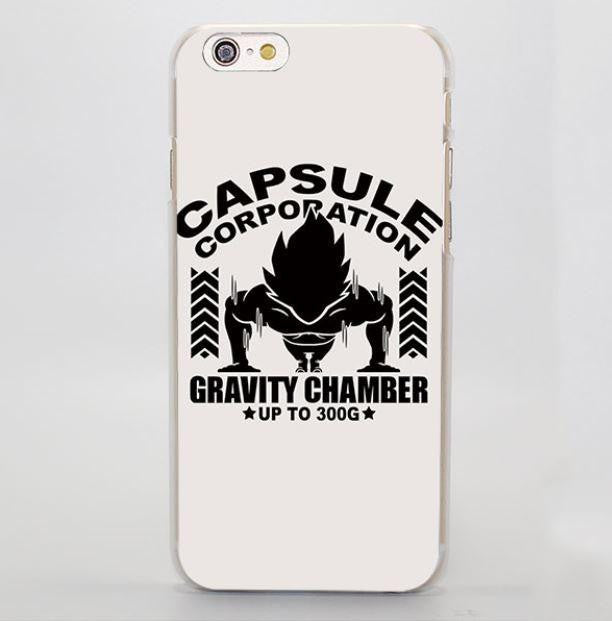 Capsule Corporation Gravity Chamber Up to 300G iPhone 4 5 6 7 Plus Case
